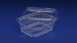 DLC-016 <br></br> 16 OUNCE DELI CONTAINER AND LID<br></br> 8 Tiers x 4 cases per tier = 32 cases per pallet