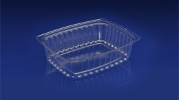 DLC-048<br></br>  48 OUNCE DELI TRAY – BULK PACK<br></br>  5 Tiers x 6 cases per tier = 30 cases per pallet
