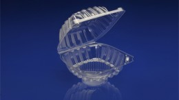 CSC-501<br></br> 5&#8243; SINGLE CUPCAKE CLEAR HINGED CONTAINER.<br></br>4 Tiers x 11 cases per tier = 44 cases per pallet.
